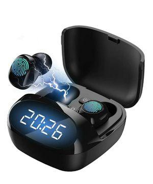 Wireless Earbuds,Bluetooth Charging Case IPX8 Waterproof Wireless Headphones LED Display for Sale in Grand Prairie, TX