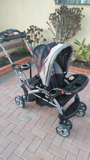Baby Trend Sit and Stand Double Stroller for Sale in Gardena, CA