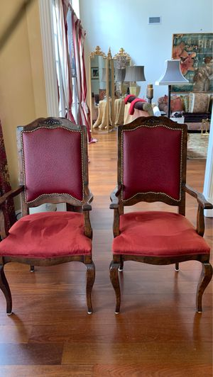 French Style Chairs (2) for Sale in Houston, TX