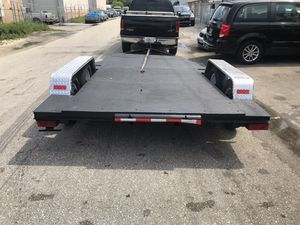 Trailer car hauler for Sale in Pembroke Park, FL