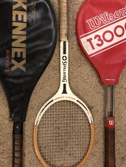 3 Classic Tennis rackets for Sale in Gig Harbor,  WA