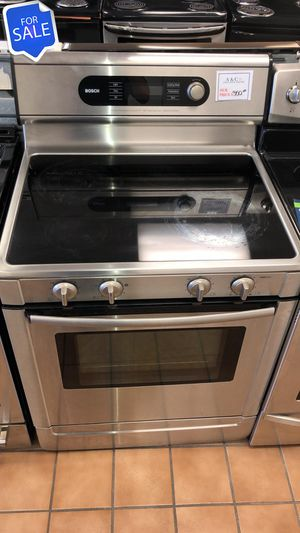 NO CREDIT!! Bosch LOWEST PRICES! Electric Stove Oven Free Delivery #1576 for Sale in Jessup, MD
