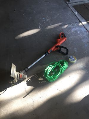 Black and Decker Electric Corded Edger for Sale in Stockton, CA