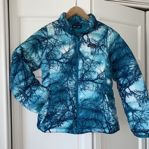 Patagonia Girls XL 14 Down Insulated Winter Jacket Coat for Sale in Westmont, IL