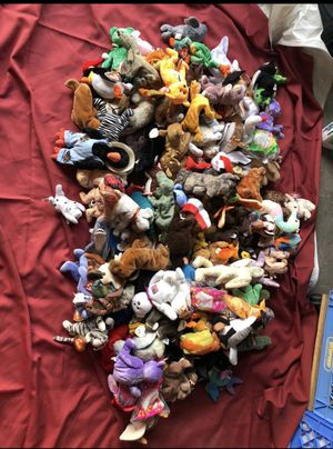 120 TY Retired Beanie Baby Collection! Great value. for Sale in Beverly Hills, CA