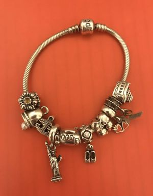 Pandora Charms (19) and Bracelets (2) for Sale in Shady Shores, TX