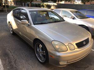 99 Lexus GS 400 $3,800.00 obo for Sale in Fresno, CA