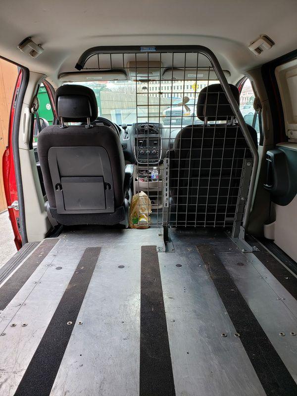 Dodge grand caravan cargo van RAM