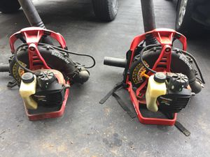 2 Homelite Backpack Blowers (Need Work) for Sale in Columbus, OH