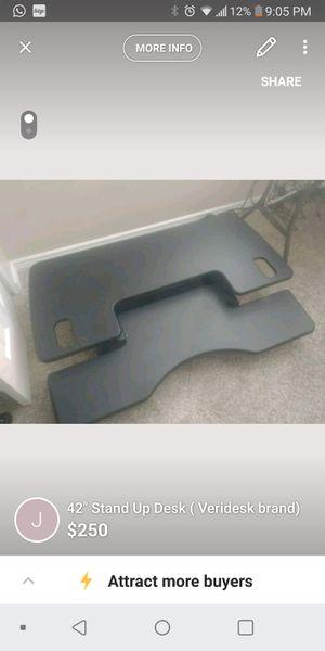 """42"""" Stand Up Desk (Veridesk) for Sale in Saratoga Springs, UT"""