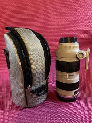 Canon 70-200mm f/2.8 L USM Lense for Sale in Port Jefferson, NY
