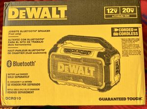 DeWalt Jobsite Bluetooth Speaker for Sale in Irwindale, CA