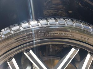 22' rims and tires...1200 or best offer for Sale in Odessa, TX