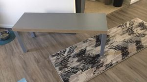 Gray coffee table for Sale in Leesburg, VA