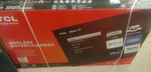 55 inch TCL 4k for Sale in Las Vegas, NV