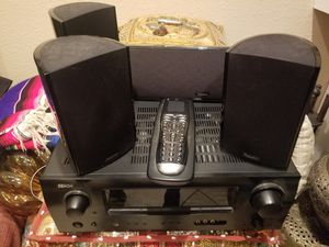 Denon surround receiver and definitive surround sound speakers/ subwoofer for Sale in Spring Valley, CA