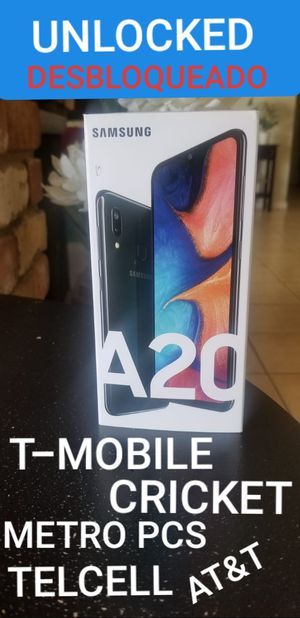 SAMSUNG GALAXY A20 UNLOCKED for Sale in Phoenix, AZ