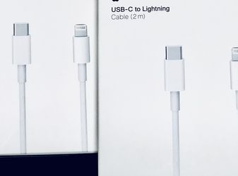 (2) 6 Foot USB-C to Lightning Cable for Sale in Hampton,  VA
