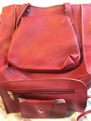 Faux Leather Jingpin Purse & accessory Set for Sale in Berkley, MI
