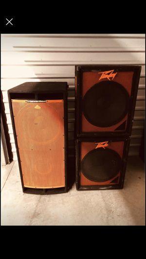 Cerwin Vega and Peavey Speaker / stand for Sale in Smyrna, GA