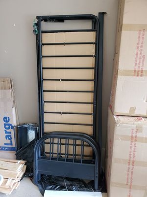 Black Futon Stand with Mattress for Sale in Mission Viejo, CA