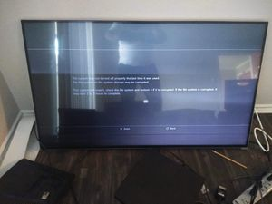 Vizio 55inch 3d broken please read for Sale in Dallas, TX