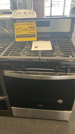 New Open Box Whirlpool Gas Stove for Sale in Santa Ana, CA