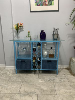 Bar cabinet ( Pier one Imports ) for Sale in New Port Richey, FL