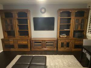 Entertainment Center with Bookshelves for Sale in Phoenix, AZ
