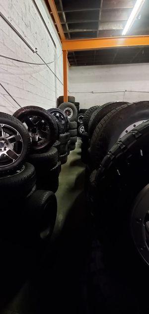 Offroad wheels, Silverado rims, Sierra rims, Tahoe rims, tundra rims, Tacoma rims, Colorado rims, jeep rims for Sale in Anaheim, CA