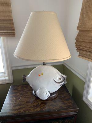 Fish lamp for Sale in Hobe Sound, FL