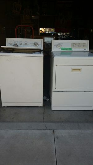 REDUCED PRICE Kenmore refurbished washer n dryer heavy duty upload for Sale in Mount Hope, KS