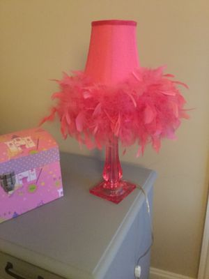 Pink Lamp with Shade for Sale in Brentwood, TN