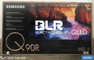 Samsung QN65Q90RAFXZA Flat 65-Inch QLED 4K Q90 Series Ultra HD Smart TV with HDR and Alexa Compatibility (2019 Model) for Sale in Downey, CA