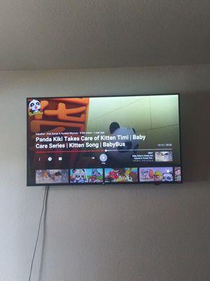 "49"" in TCL 4K HD ROKU TV for Sale in DEVORE HGHTS, CA"