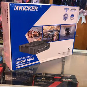 Kicker 10 Inch Subwoofer Built In Amplifier Slime for Sale in Chula Vista, CA