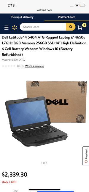 Dell Latitude 14 5404 Rugged Laptop i7 Processor for Sale in Newport News, VA