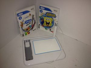 Nintendo U Draw pad with 2 games for Sale in Houston, TX