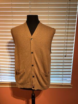 Vintage Pendleton Sweater Vest 100% Cashmere Size- Medium for Sale in Cypress, CA