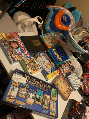 Board games and puzzles all brand new in box never used for Sale in Queen Creek, AZ