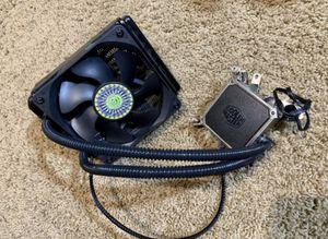 Cooler Master Liquid 120mm All-In-One Liquid CPU AIO Cooler PC for Sale in Roseville, CA