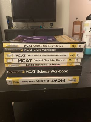 MCAT study materials Princeton Review 2019 for Sale in Tempe, AZ