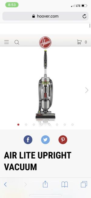 Hoover Vacuum Cleaner - Bagless with Swivel Steering for Sale in North Miami Beach, FL