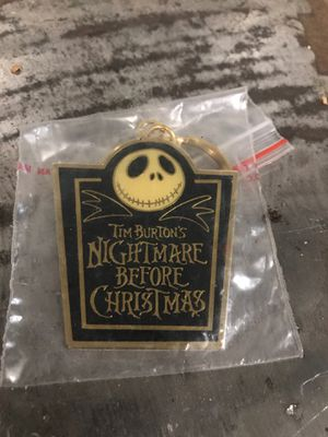 Nightmare before Christmas keychain jack skeleton for Sale in Fresno, CA