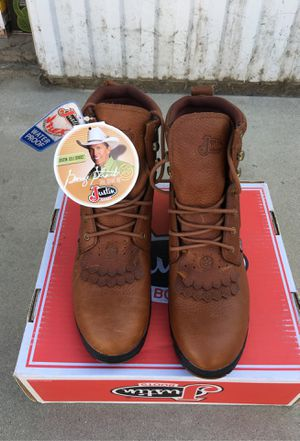 Justin boots size 10 B for Sale in Fresno, CA
