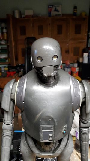 Star Wars Rogue One Big Figs Massive 31 Inches Tall K-2SO Action Figure Huge for Sale in Newark, CA