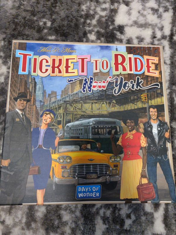 Ticket to Ride New York City! Board game