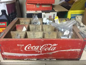 Antique Wood Coca Cola bottle crate for Sale in Seattle, WA