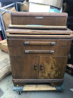 Antique Dental Anesthesia Cabinet for Sale in Redlands, CA