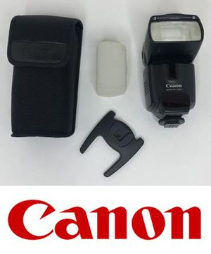 External Flash Canon Speedlite 430 EX with case included for Sale in Chino, CA